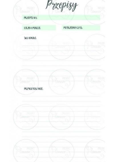 WKŁAD ZAPASOWY – PLANNER TYGODNIOWY (A6)